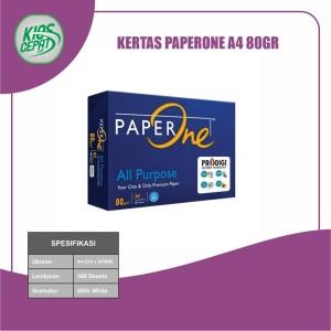 Harga kertas paperone a4 80gr kertas hvs | HARGALOKA.COM