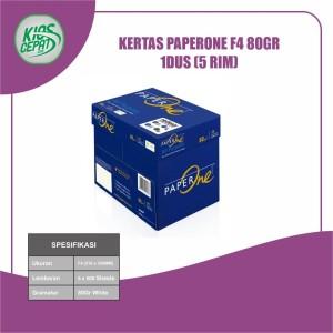 Harga khusus gojek grab kertas paperone f4 80gr 1dus 5 | HARGALOKA.COM