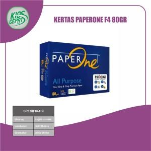 Harga kertas paperone f4 80gr kertas hvs | HARGALOKA.COM