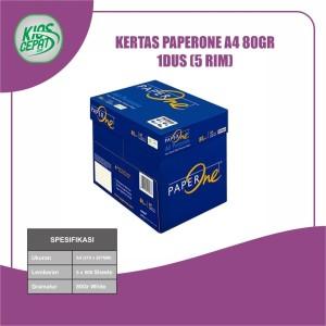 Harga khusus gojek grab kertas paperone a4 80gr 1dus 5 | HARGALOKA.COM