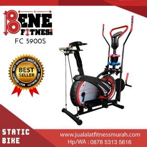 Harga sepeda statis alat fitness fc 4900s orbitrek 6f olahraga fitnes | HARGALOKA.COM