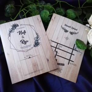 Harga Undangan Pernikahan Simple Paper Plane 58 Katalog.or.id