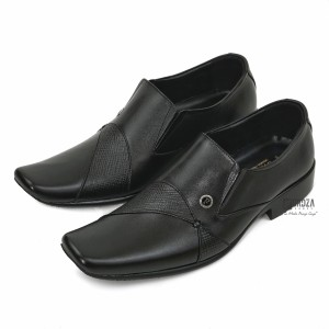Harga sepatu pantofel pria formal kulit asli outsole karet fordza f662ht   hitam | HARGALOKA.COM
