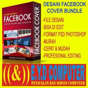 Harga desain facebook cover bundle editing psd photoshop koleksi   HARGALOKA.COM