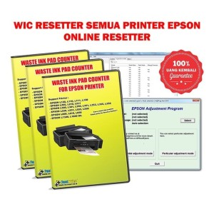 Harga wic waste ink pad counter reset khusus printer epson online | HARGALOKA.COM