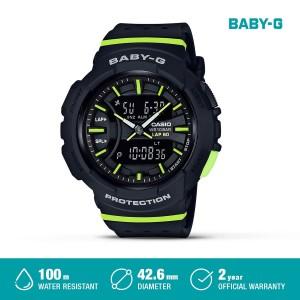Harga casio baby g jam tangan digital analog wanita bga 240 1a2dr black   HARGALOKA.COM