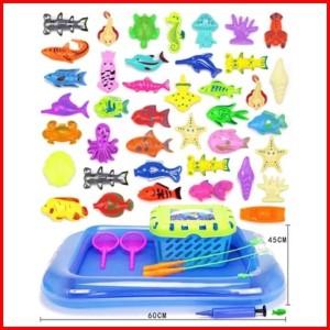 Harga 48pcs hewan laut fishing toy pancing ikan magnet | HARGALOKA.COM