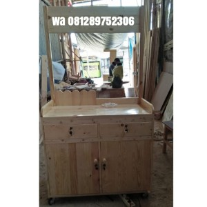 Harga ready booth gerobak makanan | HARGALOKA.COM