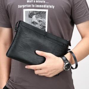 Harga w10 business clutch model milan tastangan handbag dompet pria amp   HARGALOKA.COM
