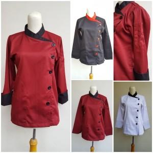 Harga baju chef 2tone | HARGALOKA.COM