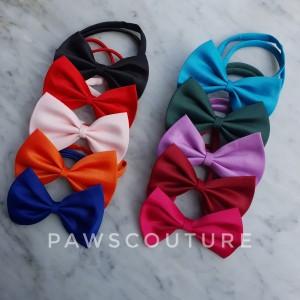 Harga d11 kalung dasi kupu kupu anjing kucing hewan pet dog neck bow tie   | HARGALOKA.COM