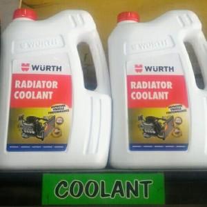 Harga radiator coolant pendingin radiator warna cairan hijau wurth | HARGALOKA.COM