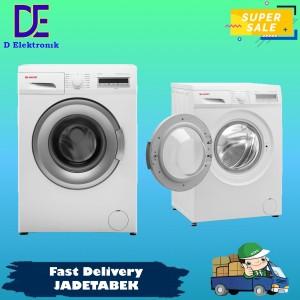 Harga promo mesin cuci sharp front loading es fl1082g esfl1082g 8 | HARGALOKA.COM