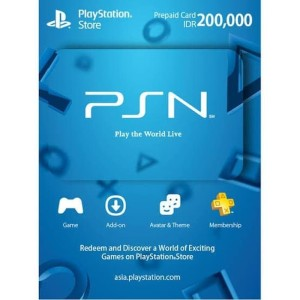 Harga psn card wallet idr 200k 200 000 playstation network gift | HARGALOKA.COM