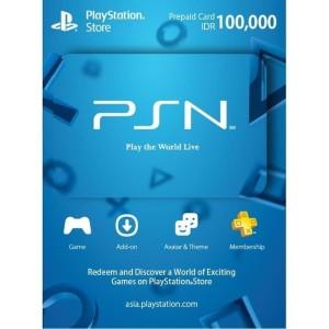 Harga psn card wallet idr 100k 100 000 playstation network gift   HARGALOKA.COM