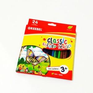 Harga pensil warna greebel classic 24 | HARGALOKA.COM