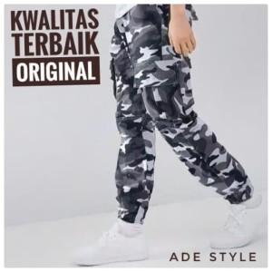 Harga twill army celana jogger joger motif army loreng pria cowok sport   kode | HARGALOKA.COM