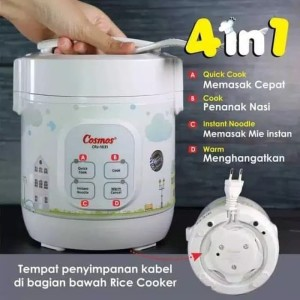 Harga cosmos digital rice cooker mini kecil 4 in 1   crj 1031   crj1031  | HARGALOKA.COM