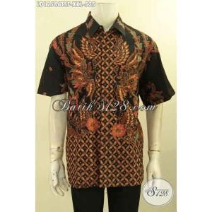 Harga kemeja batik pria gemuk lengan pendek tulis premium size xxl | HARGALOKA.COM