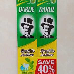 Harga darlie double action mint 225gr 1paket isi 2   HARGALOKA.COM