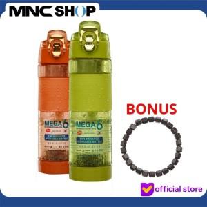 Harga mega 6 botol minum kesehatan 600ml bonus gelang kesehatan     HARGALOKA.COM