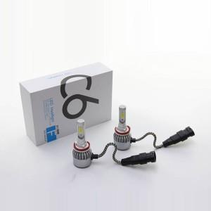Harga 2pcs lampu kabut foglamp led mobil c6 h8 h9 h11 36w terang harga | HARGALOKA.COM