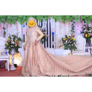 Harga baju kebaya pengantin bisa pakai ring 8 preloved 2kali | HARGALOKA.COM