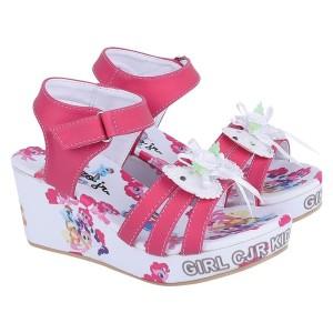 Harga wedges sepatu sandal anak perempuan cewek shoes casual pesta kuda | HARGALOKA.COM