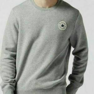 Harga tshirt long slevee baju kaos lengan panjang converse all star | HARGALOKA.COM