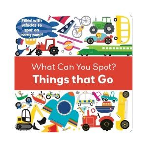 Harga what can you spot things that go look and find book buku anak | HARGALOKA.COM