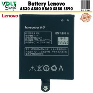 Harga baterai battery lenovo bl198 a830 original | HARGALOKA.COM