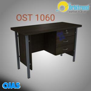 Harga meja tulis kantor 1 2 biro orbitrend ost1060 warna mahogani n beech | HARGALOKA.COM