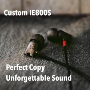 Harga custom sennheiser ie800s high end diy earphone   silver | HARGALOKA.COM