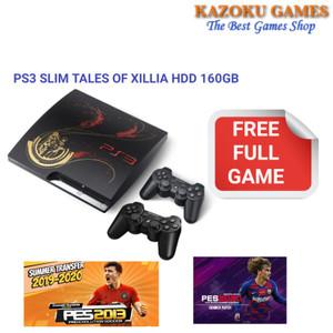 Harga ps3 slim tales of xillia 160gb 2 stick full | HARGALOKA.COM