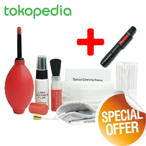 Harga cleaning kit 8 in 1 pembersih lensa kamera canon lenspen   HARGALOKA.COM