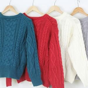 Harga baju hangat sweater rajut pria wanita musim dingin import   | HARGALOKA.COM