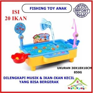 Harga english 20 ekor ikan fishing toy mainan edukasi pancing ikan   HARGALOKA.COM