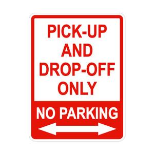 Harga rambu pick up and drop off only   45cm x 60cm   plat | HARGALOKA.COM