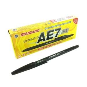 Harga pulpen standard ae7 0 5 mm 1 box 12 pcs   | HARGALOKA.COM