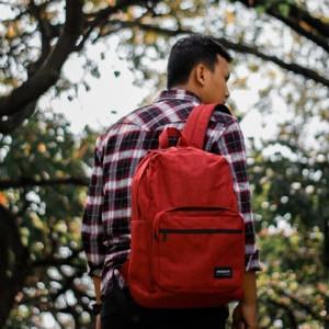 Harga alor maroon wanderlust backpack classic tas ransel tas | HARGALOKA.COM