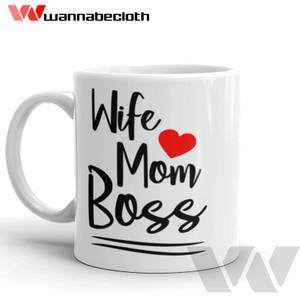 Harga mug wife mug unik mug custom cetak mug kado istri mug wife mom | HARGALOKA.COM