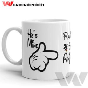 Harga mug custom mug unik souvenir cetak mug print mug kado mug aku kamu | HARGALOKA.COM