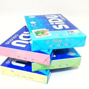 Harga kertas hvs warna 70 gsm ukuran a4 sinar dunia   biru | HARGALOKA.COM