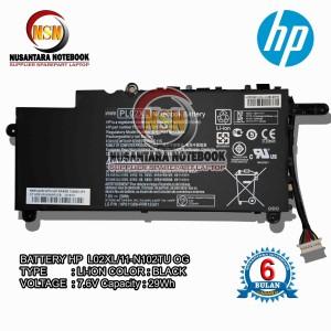 Harga baterai hp pavilion 11 n102tu x360 pl02xl hstnn lb6b | HARGALOKA.COM