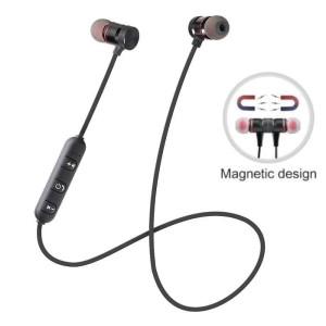 Harga headset bluetooth sports handsfree earphone metal solid | HARGALOKA.COM