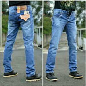 Harga celana jeans pria levis 501 import keren terbaru   distro denim | HARGALOKA.COM
