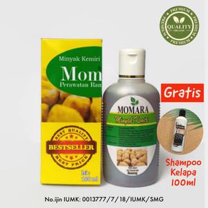 Harga momara minyak kemiri bakar untuk rambut rontok dan kebotakan isi | HARGALOKA.COM