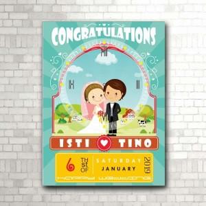 Harga kado pernikahan jam dinding kode w 715 non | HARGALOKA.COM