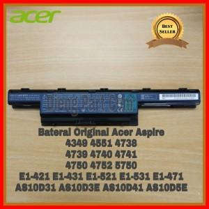 Harga baterai original laptop acer aspire 4738 4738z 4738zg 4739 4739z   HARGALOKA.COM