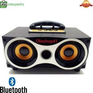 Harga speaker portabel bluetooth fleco f 6 bt fm radio usb super   HARGALOKA.COM